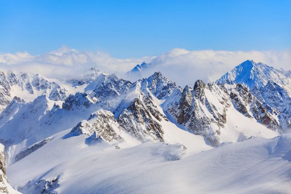 瑞士铁力士山优美自然风景图片_WWW.171ZZ.NET