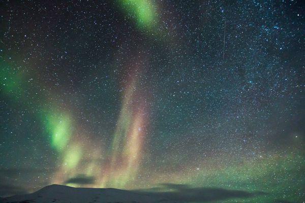让人震撼的神奇极光风景图片_WWW.171ZZ.NET