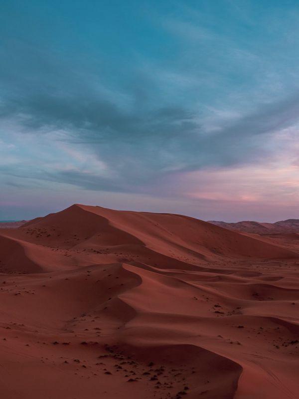 沙漠沙丘唯美风景图片_WWW.171ZZ.NET