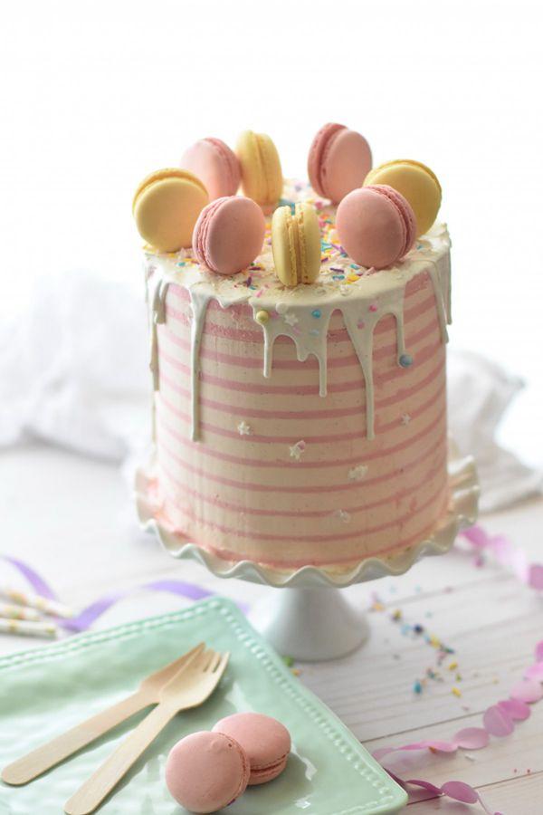 马卡龙奶油蛋糕图片_WWW.171ZZ.NET